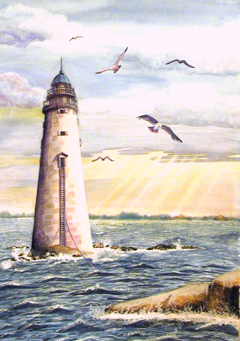 famous famous lighthouse paintings