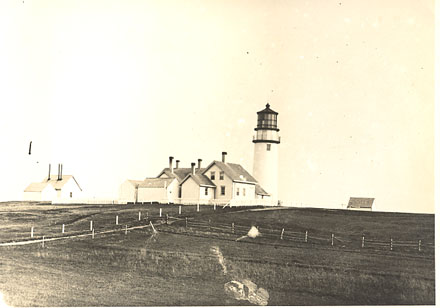 Cape Cod - Discontinued lighthouse border