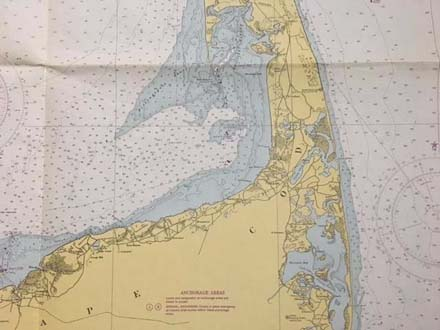 Cape Cod Detailed Map Of Cape Cod on